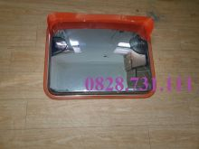 Gương cầu lồi chữ nhật inox 600x450/800x600 mm
